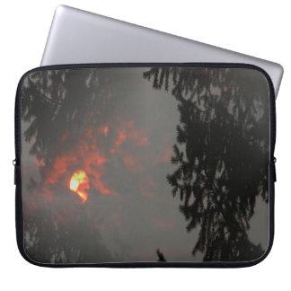 Fiery Sun... Laptop Sleeve