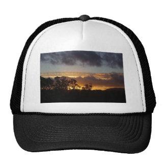 Fiery Sunset Trucker Hats