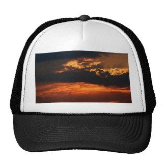 Fiery Sunset Hat