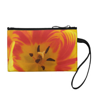 Fiery Tulip Bagettes Bag Coin Wallets