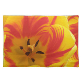 Fiery Tulip Placemat