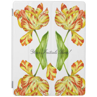Fiery Tulips on iPad 2/3/4/ Smart Cover iPad Cover
