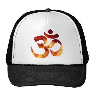 Fiery Yoga Symbol Hat