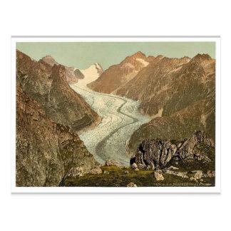 Fiescher Glacier, Valais, Alps of, Switzerland vin Postcard