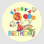 Fiesta 3rd Birthday T-shirts and Gifts Sticker