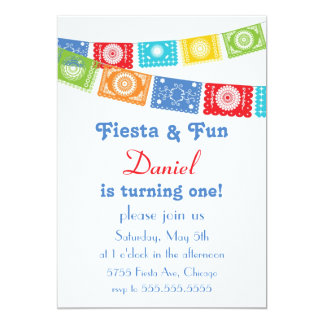 Fiesta and Fun Birthday Invitation