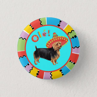 Fiesta Australian Terrier 3 Cm Round Badge