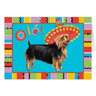 Fiesta Australian Terrier Card