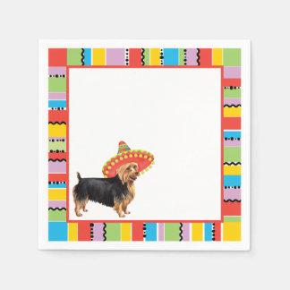 Fiesta Australian Terrier Disposable Napkins