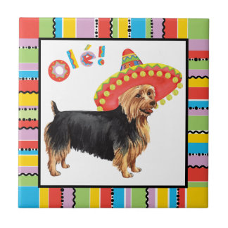 Fiesta Australian Terrier Tile