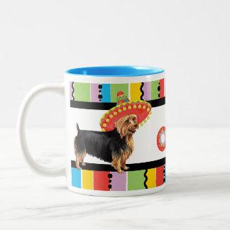Fiesta Australian Terrier Two-Tone Coffee Mug