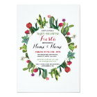 Fiesta Baby Shower Cactus Girl Boy Mexican Invite
