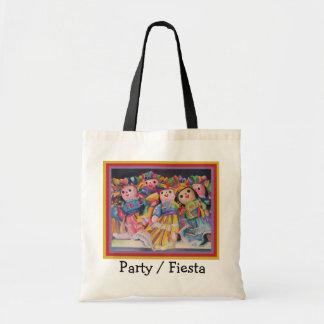 Fiesta Canvas Bags