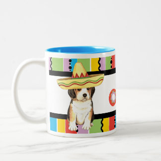 Fiesta Beagle Two-Tone Coffee Mug