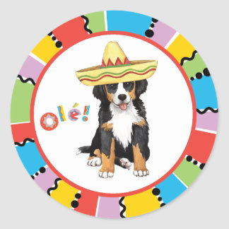 Fiesta Berner Round Sticker