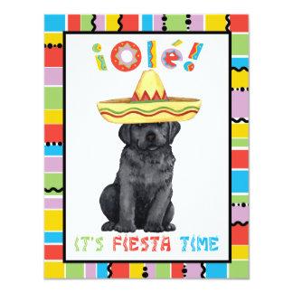 Fiesta Black Lab 11 Cm X 14 Cm Invitation Card