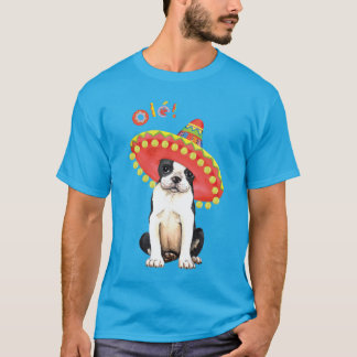 Fiesta Boston Terrier T-Shirt