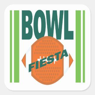 Fiesta Bowl Square Sticker