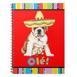 Fiesta Bulldog Notebook