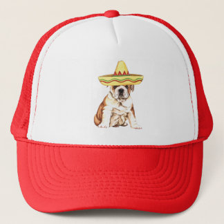 Fiesta Bulldog Trucker Hat
