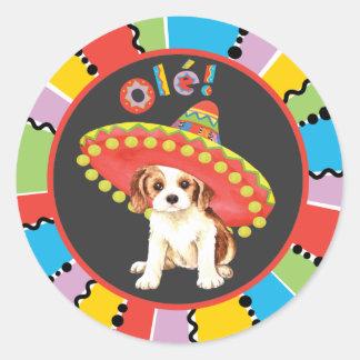 Fiesta Cavalier Round Sticker