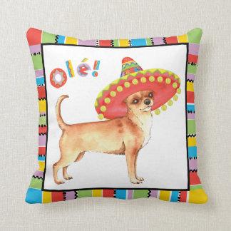 Fiesta Chihuahua Cushion