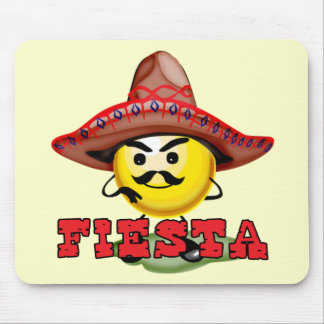 Fiesta Cinco de Mayo T-shirts and Gifts Mouse Pad