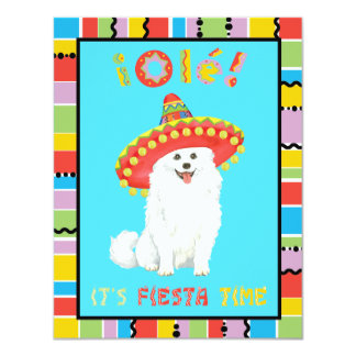Fiesta Eskie 11 Cm X 14 Cm Invitation Card