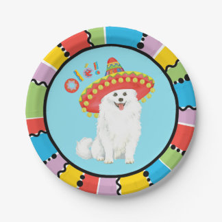 Fiesta Eskie 7 Inch Paper Plate