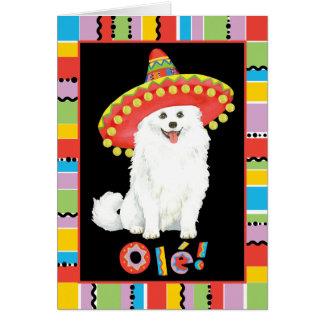 Fiesta Eskie Greeting Card