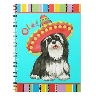Fiesta Havanese Spiral Notebook