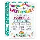 Fiesta Invitation - Birthday Invitation All Ages