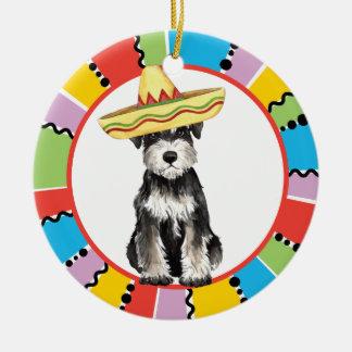 Fiesta minia round ceramic decoration