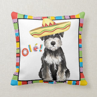 Fiesta Miniature Schnauzer Cushion