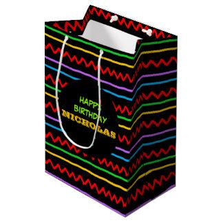Fiesta Personalized Medium Gift Bag