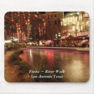 Fiesta ~ River Walk San Antonio Texas Mouse Mat