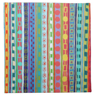 Fiesta Set of 4 Cocktail Napkins