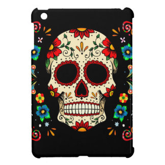 Fiesta Skull iPad Mini Covers