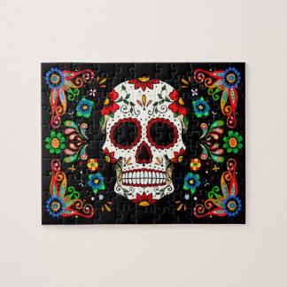 Fiesta Skull Jigsaw Puzzle