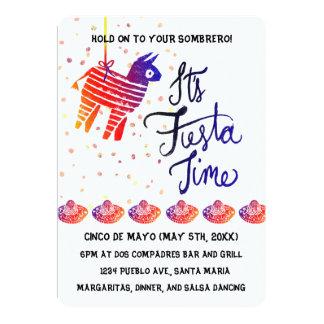 Fiesta Time Cinco De Mayo Card