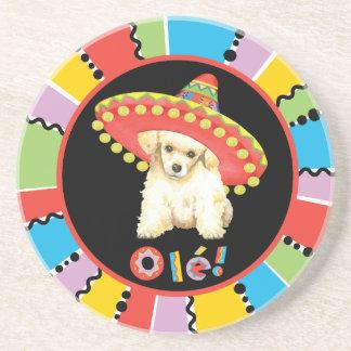 Fiesta Toy Poodle Coasters