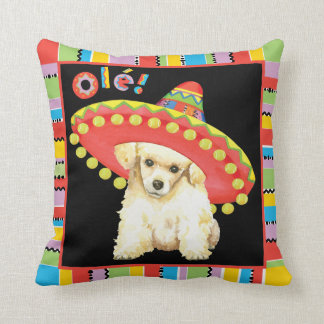 Fiesta Toy Poodle Cushion