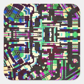 fiesta V2 Square Sticker