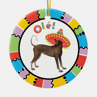 Fiesta Xolo Christmas Ornament