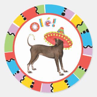 Fiesta Xolo Round Sticker