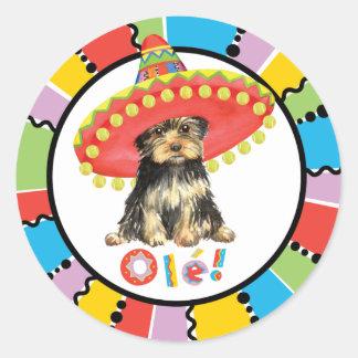 Fiesta Yorkie Stickers