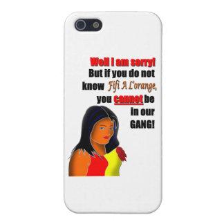 Fif A L'orange iPhone 5 Cover