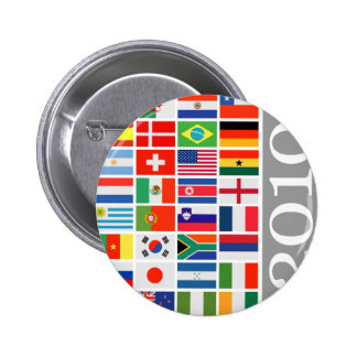 FIFA World Cup 2010 6 Cm Round Badge