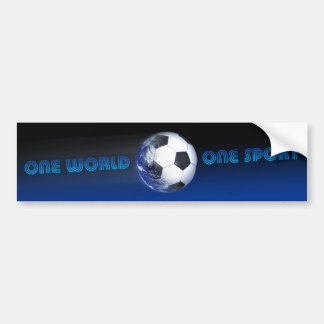 FIFA World Cup One World One Sport 2 Bumper Stickers