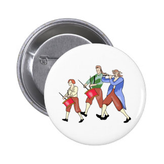 FIFE AND DRUM BAND BUTTON